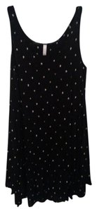 Kensie short dress Black print Shift on Tradesy