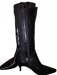Aquatalia by Marvin K Black Suede Boots