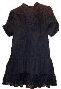 Poetry Button Down Shirt Black