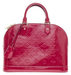 Louis Vuitton Alma Monogram Satchel