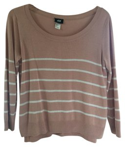 H&M Stripe Relaxed Sweater