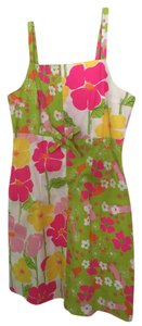 Lilly Pulitzer short dress Pink & green on Tradesy
