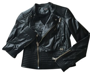 Miss Sixty Blac Leather Jacket