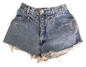 Roper High Waisted Shorts High Waisted Denim Shorts-Medium Wash