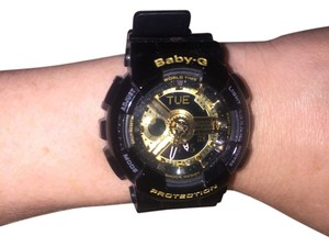 Baby-G Woman's analog digital resin strap 43-46 mm watch