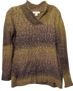 Coldwater Creek Green Fuzzy Sweater