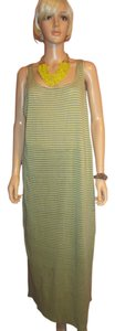 Gray & Yellow Maxi Dress by Eileen Fisher