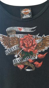 Harley Davidson Hd T Shirt Black