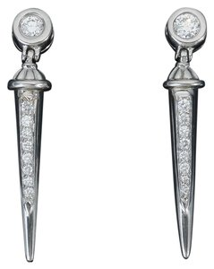 Scott Kay Scott Kay Diamond Earrings in Platinum