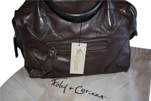 Foley + Corinna 70s Equestrian Tote Satchel in VINTAGE BROWN