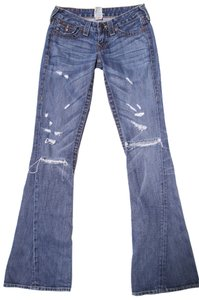 True Religion First Edition Boot Cut Jeans-Distressed