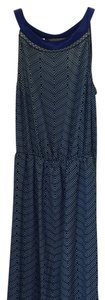 Blue with a pattern Maxi Dress by Lucky Brand