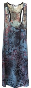 Imaginary Voyage short dress Blue with pink pastel on Tradesy