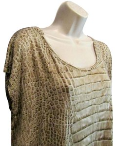Michael Kors Blouse Top Gold