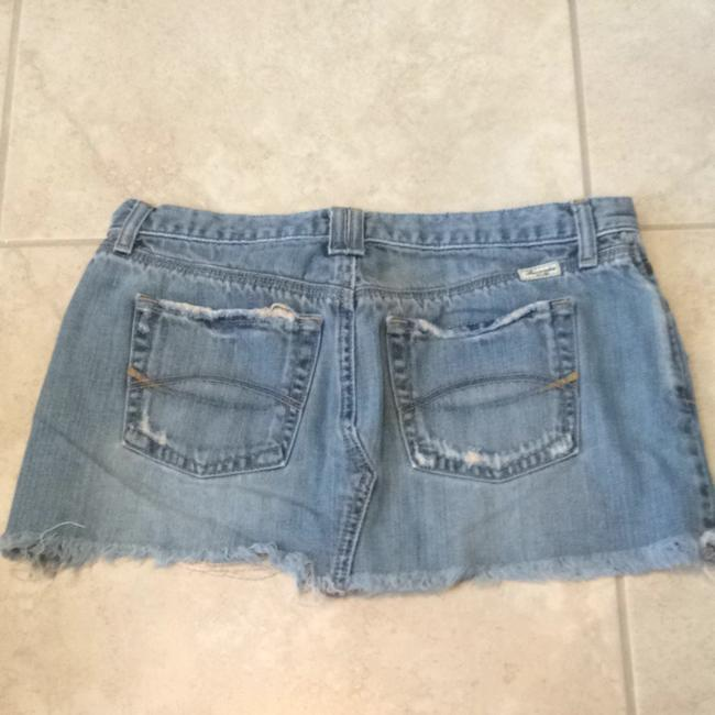 Abercrombie & Fitch Skirt Washed Blue