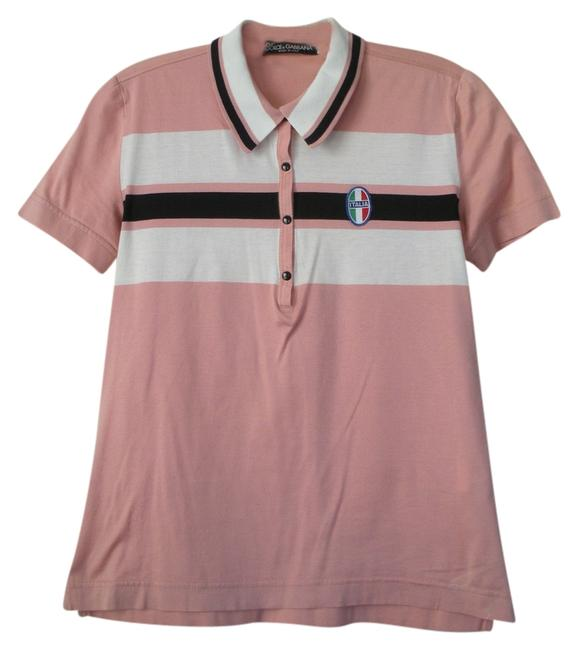 Item - Pink and Multi Tee Shirt Size 6 (S)