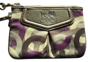 Coach Wristlet in Violet Multi