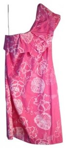 Lilly Pulitzer short dress Pink Sandra Dahlia on Tradesy
