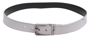 Louis Vuitton * Louis Vuitton Ceinture Gray Reversible Leather Belt M9879 - Size 38
