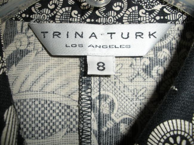 Trina Turk short dress Black and white on Tradesy