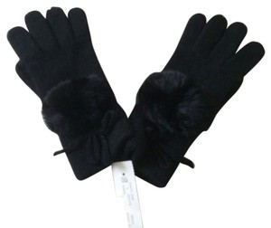 Gorsuch Cashmere Gloves With Mink Poof