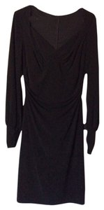 David Meister Little Fitted Longsleeve Date Night Night Out Dress