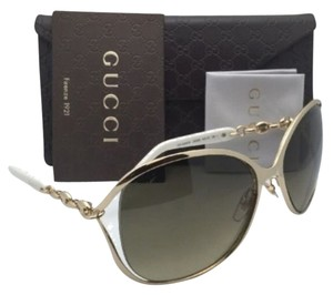 Gucci New GUCCI Sunglasses GG 4250/S J5GED 60-17 Gold Frames w/ Brown Gradient Lenses