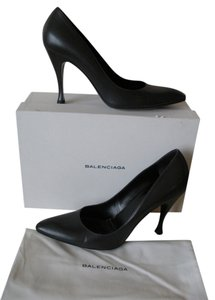 Balenciaga Dark Grey Pumps