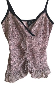INC International Concepts Top Pink/black