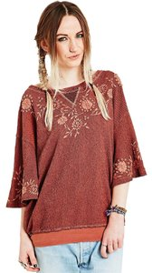 Free People Shortsleeve Short Sleeve Sweatshirt