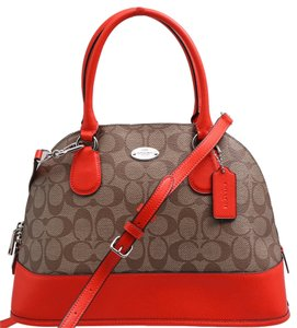 Coach Satchel in Orange