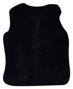 French Connection Faux Fur Sleeveless Vest