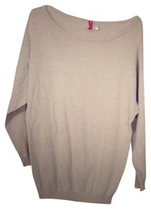 H&M Comfy Grey Lightweight Oversized Batwing Sweater