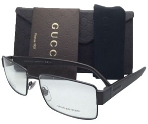 Gucci New GUCCI Eyeglasses GG 2217 L13 55-16 Cocoa Brown Frame w/ Clear Demo Lenses