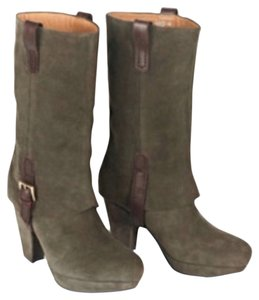 Earthies Olive Boots