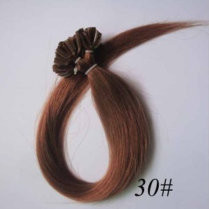 100% Real Human Hair Extension Med Auburn Free Shipping