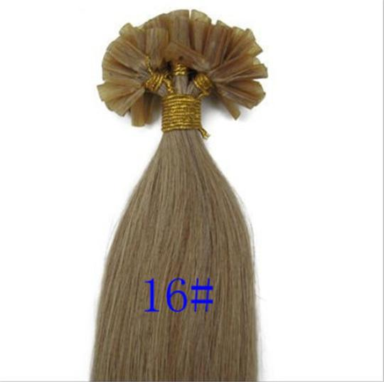"18"" Remy Real Human Hair Extensions Free Shipping"