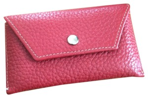 Other Red Leather Credit Card Holder