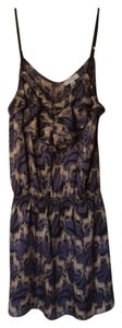 Jonesy Comfortable Strappy Summer Animal Print Dress