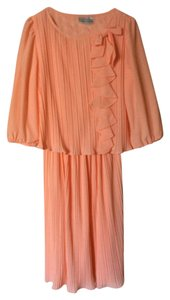 Lisa Cole Vintage Chiffon Chic Classic Dress