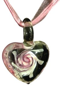 Boutique Glass Heart Pendant
