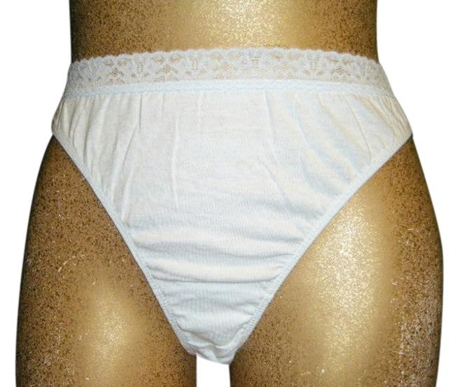 Other PANTIES 9 PR NEW THONG COTTON Small Size 5 COTTON