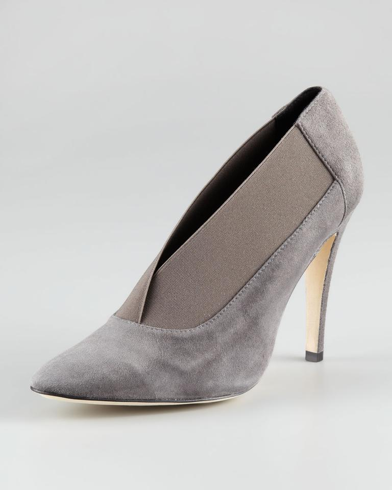 c379fcbb68c6d Manolo Blahnik Grey Womens Scomess Elastic-collar Suede Boots ...