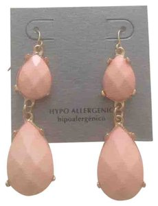 Other Pink Fashion Statement Dangle Earrings Hypo-allergenic Jewelry