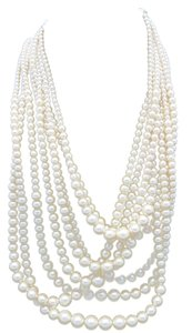 Talbots pearl necklace Big Multistrand Talbot's Bridal