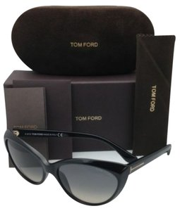 Tom Ford New TOM FORD Sunglasses MARTINA TF 231 01B 59-16 Black with Gray Gradient Lenses