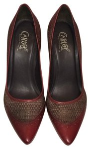 Carlos by Carlos Santana Red Pumps