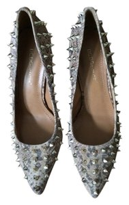 BCBGeneration Leather Snake print Pumps