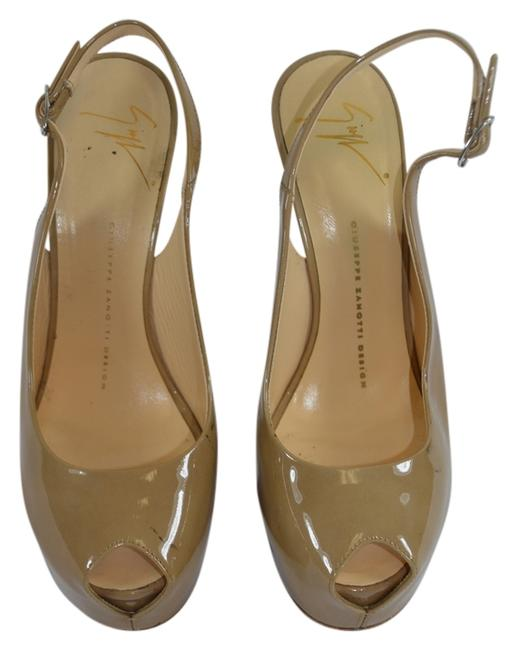 Item - Nude Patent Leather Open In Color 38/7.5 Df Formal Shoes Size US 7.5 Regular (M, B)
