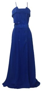 Blue Maxi Dress by Jean-Paul Gaultier